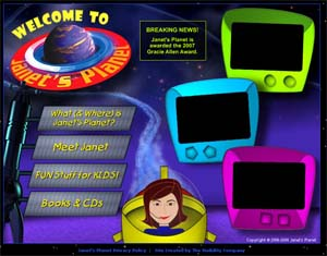 Janet Planet on the web
