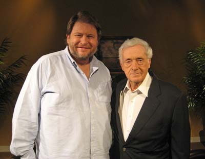 Author Rick Bragg and John Seigenthaler