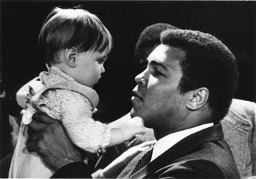 Lauren O'Neill and Muhammad Ali