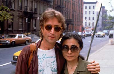Yoko Ono and John Lennon In NYC