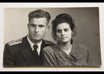 Vasili Arkhipov and wife Olga Arkhipov
