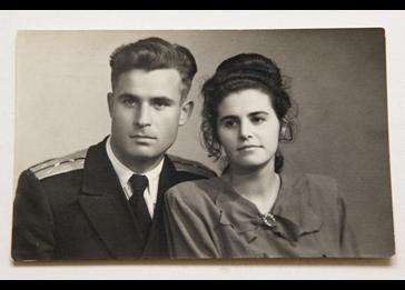 Vasili Arkhipov and wife Olga Arkhipov