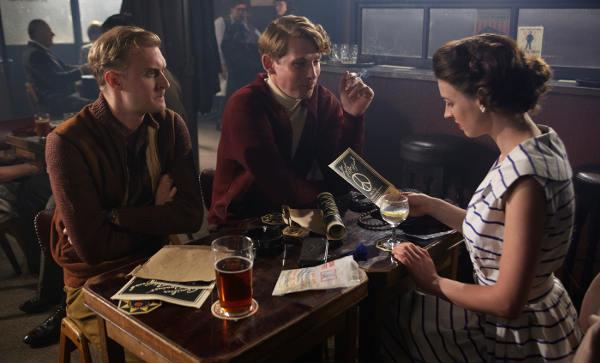 Ben (Christos Lawton), Thomas Short (Hasan Dixon) and Jenny Lee (Jessica Raine)