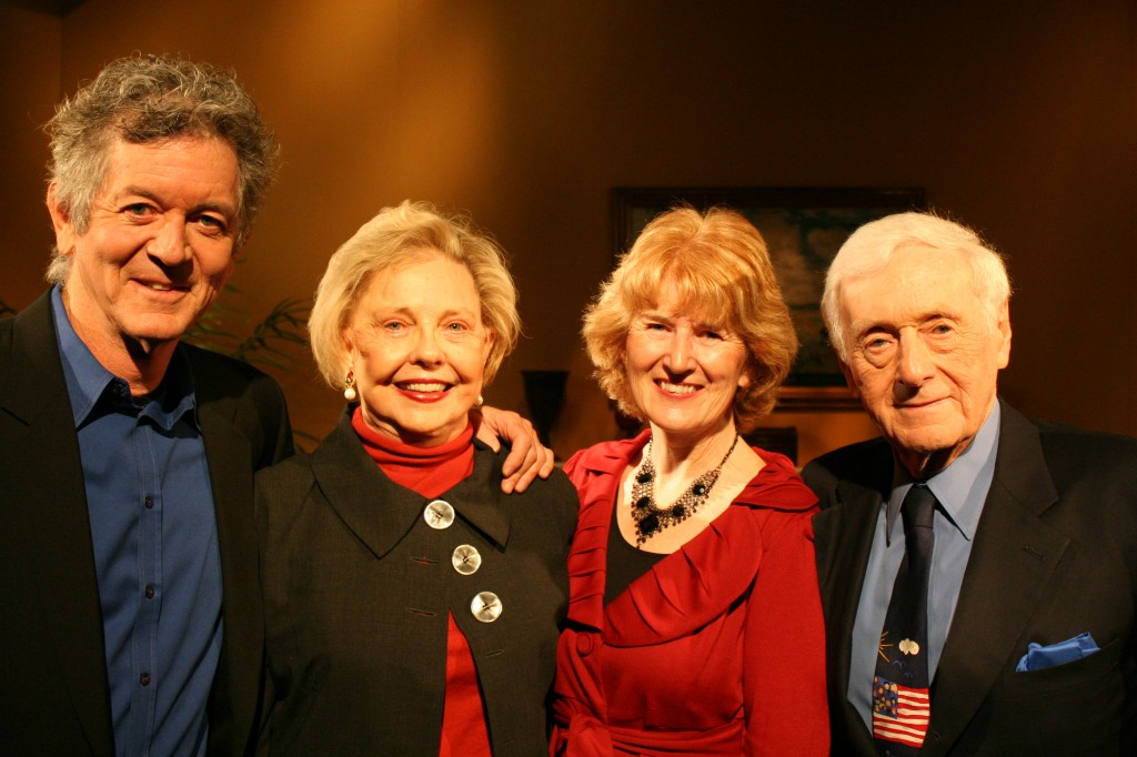 Rodney Crowell, Ann Carell, Beth Curley and John Seigenthaler