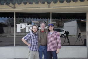 Will Pedigo, Rob Heller and Matt Emigh (Courtesy of Karen Cumorich, LaFollette Press)
