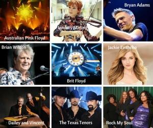 summer concerts 2015