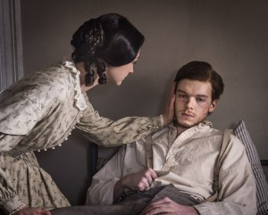 Emma Green (Hannah James) and Tom Fairfax (Cameron Monaghan). Credit: Courtesy of Antony Platt/PBS