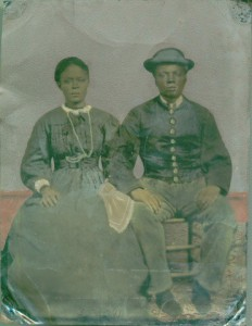 Hannah and Adam Watkins (c. 1865). Tennessee State Museum