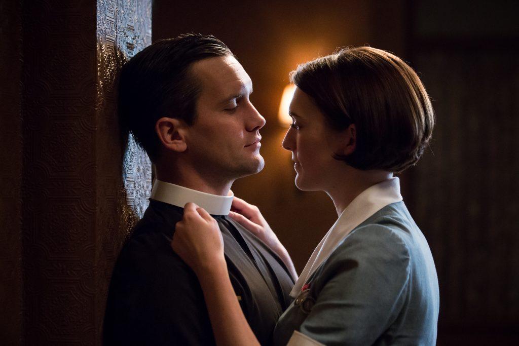 Tom Hereward (Jack Ashton) and Barbara (Charlotte Ritchie)