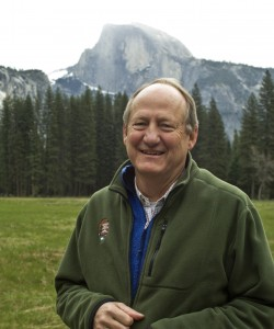 Dayton Duncan in Yosemite National Park. Photo by Al GOLUB/Golub Photography (2009).