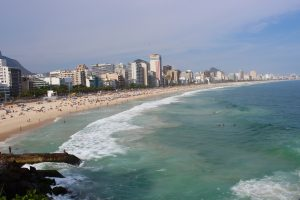 View of a Rio beach, from Get Ready to Rio! with Chef Hubert Keller