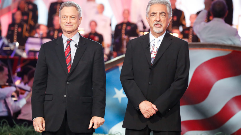 Gary Sinese and Joe Mantegna host the National Memorial Day Concert on NPT