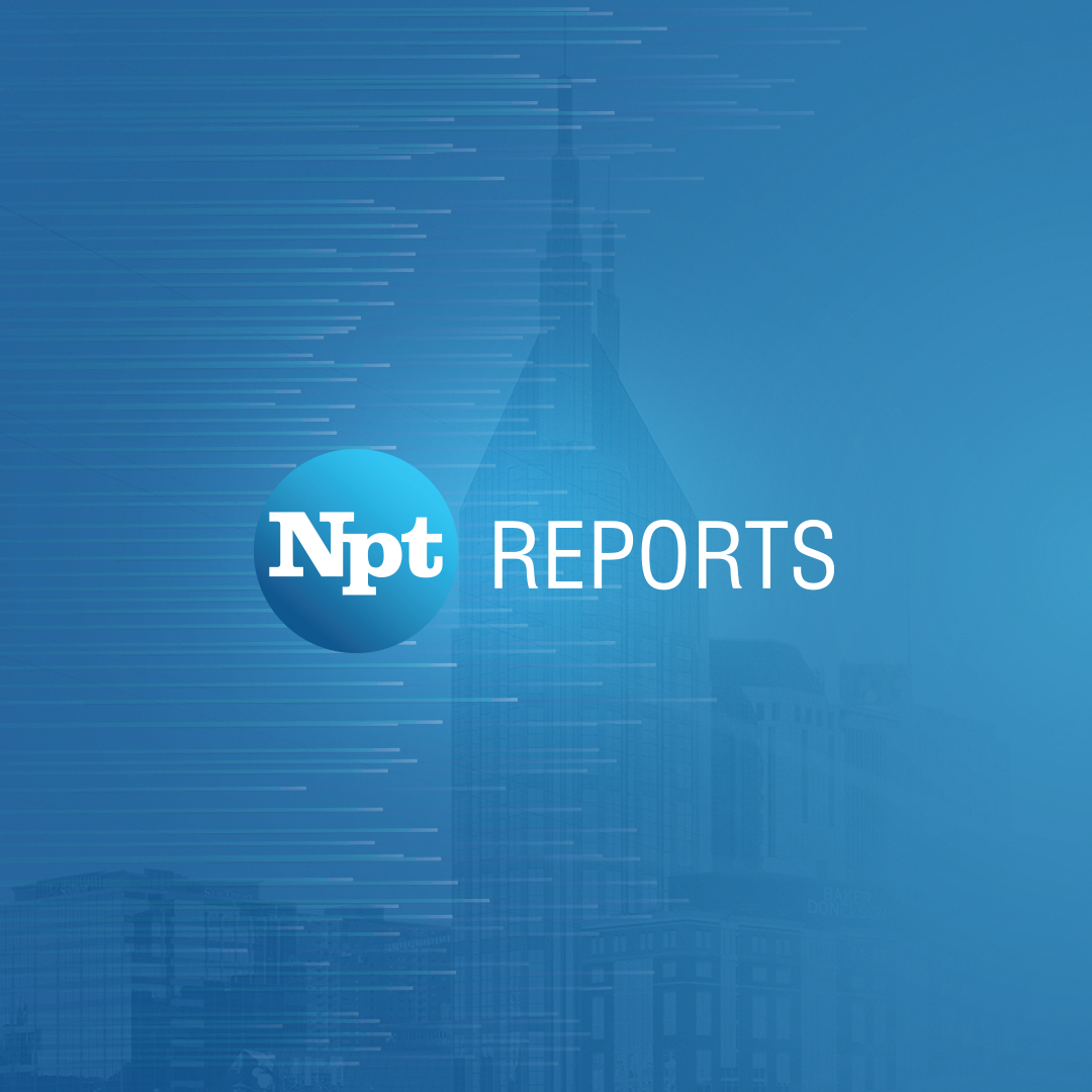 NPT Reports Logo with Batman Building in background