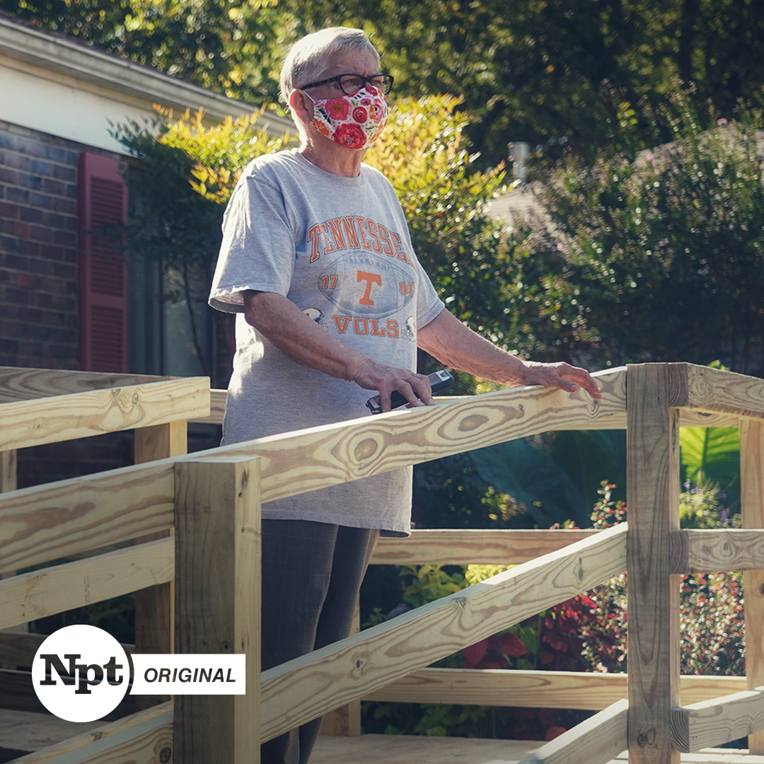 NPT Original Aging Matters Fall Prevention Person on ramp