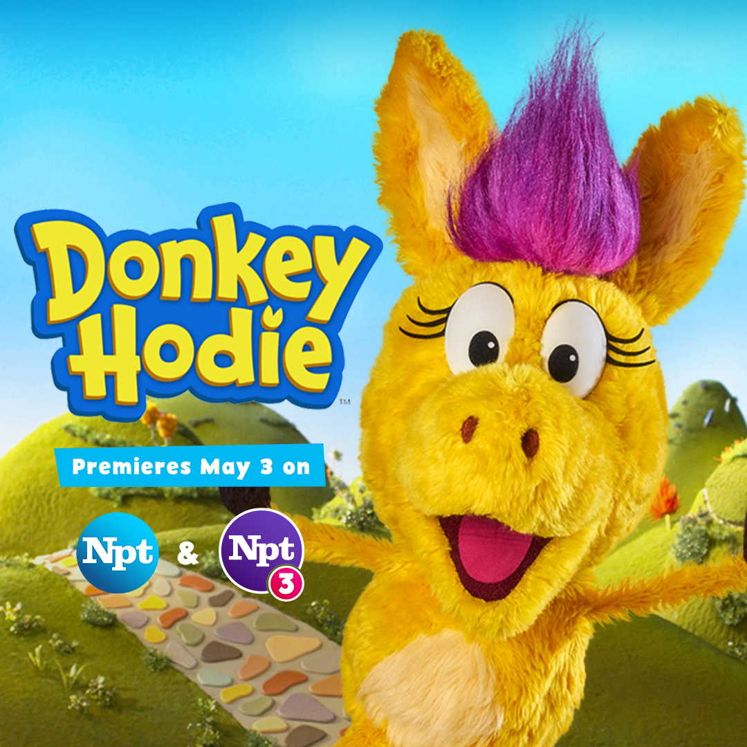 Donkey Hodie Premieres in May