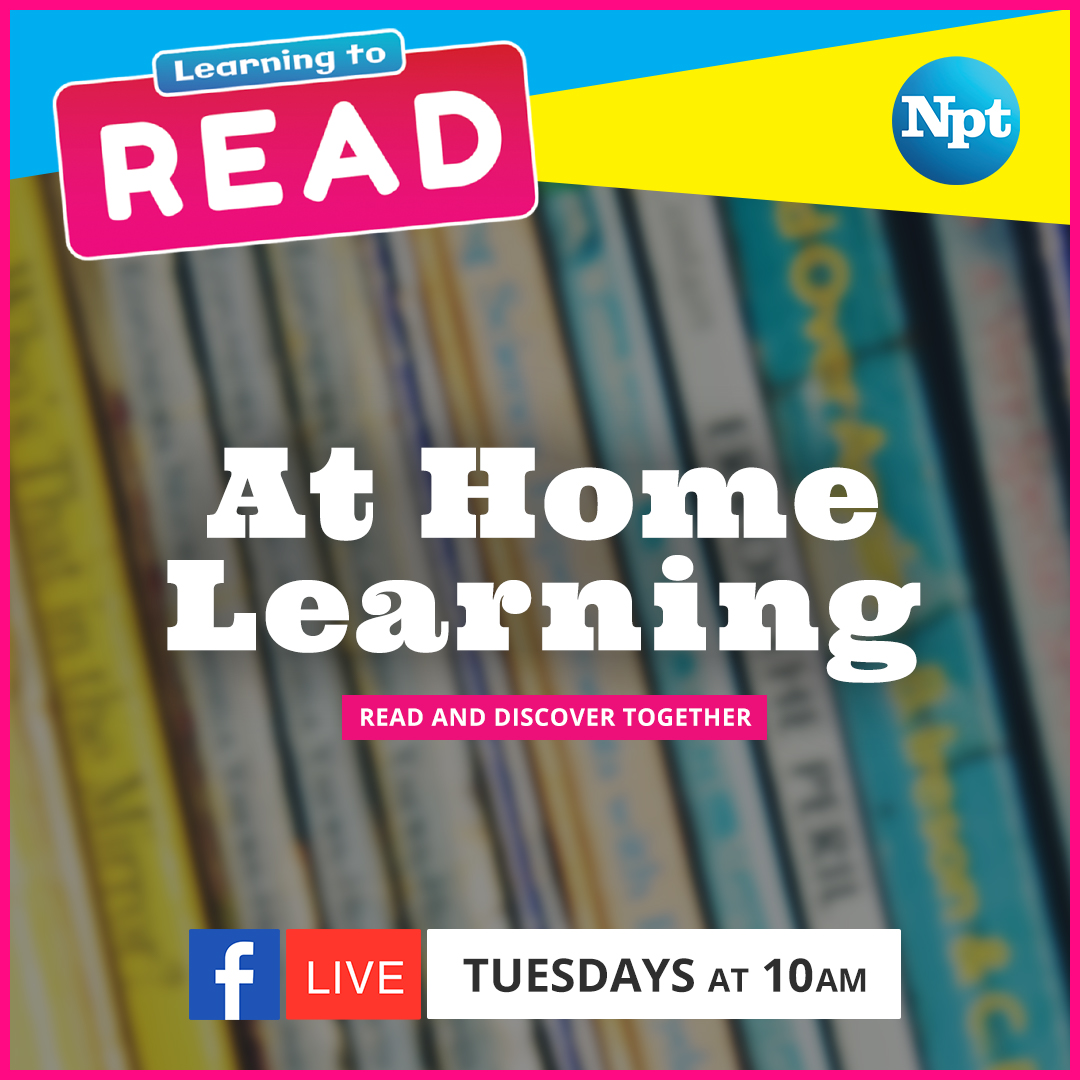 At Home Learning Tuesdays at 10AM